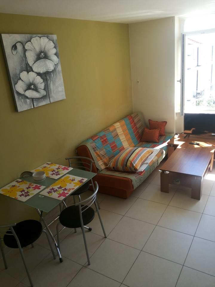 Main room, living and dining room, bedroom, fol... Slide-2