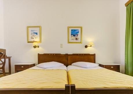 Double room near caldera