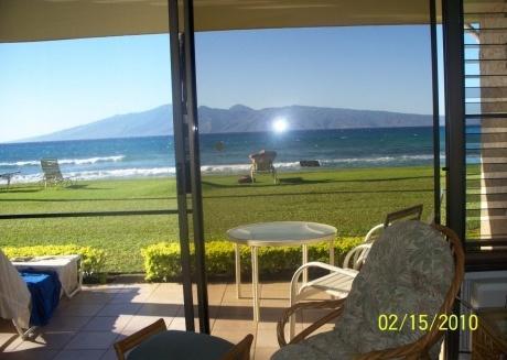 Maui Ocean Front 1 bedroom condo