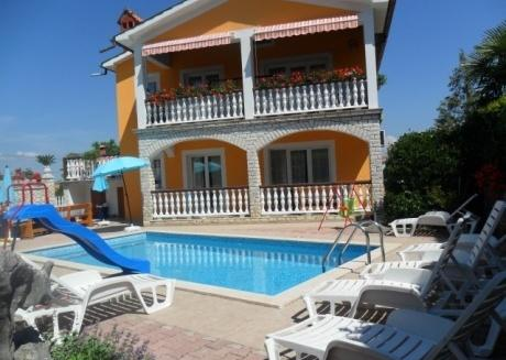 SD Villa Fidy with pool Apartment A2 for 4+1 Labin Nedenšćina