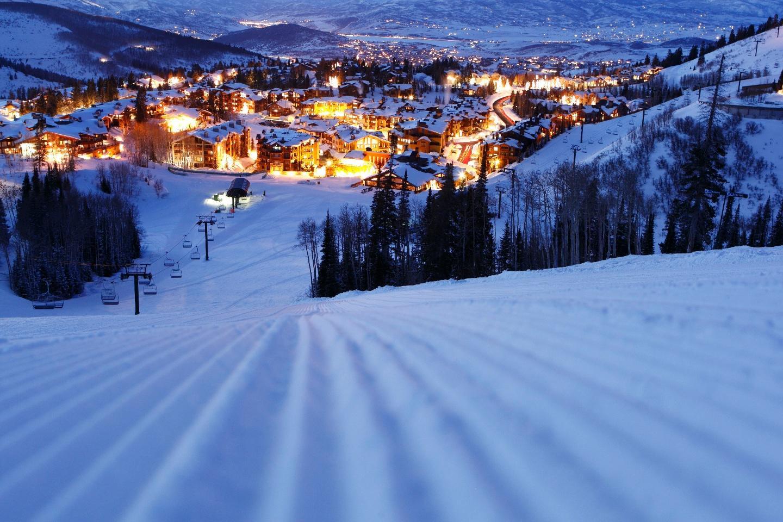 Deer Valley at night Slide-15