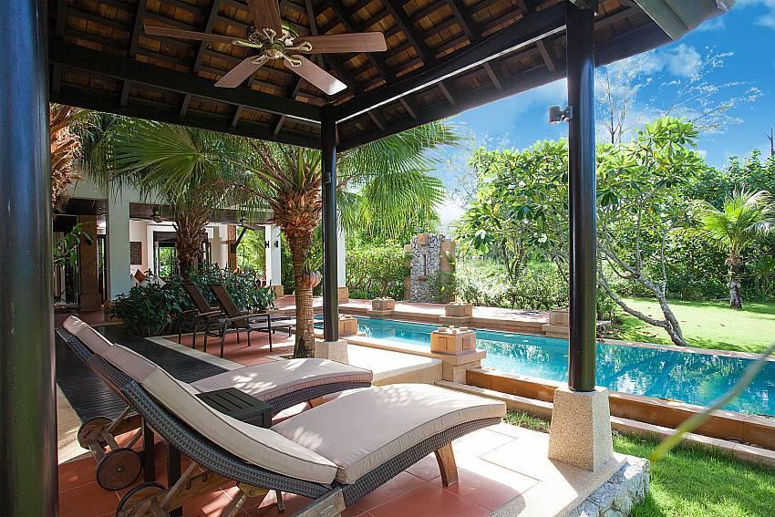 Chom Tawan |  4 Bed Pool Villa Near Layan Beach... Slide-24
