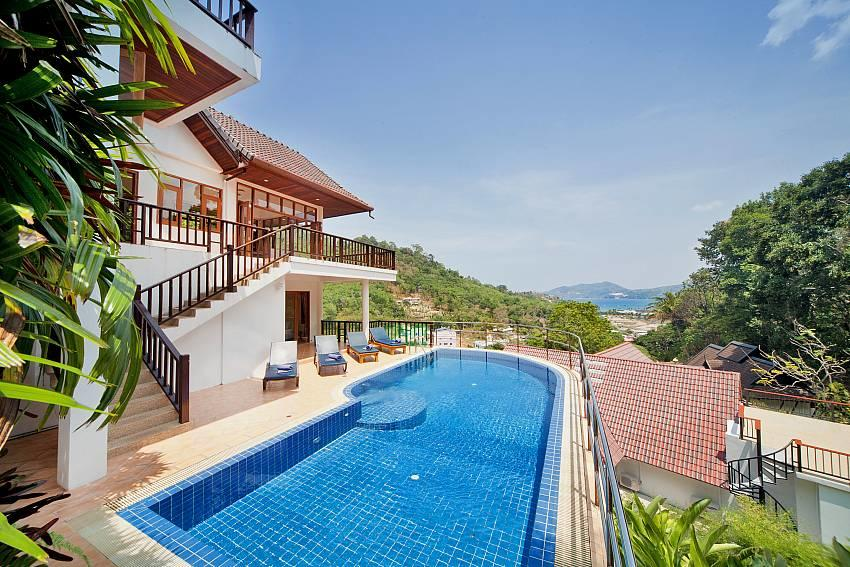 Patong Hill Estate Five | 5 Bed Pool Villa with... Slide-1