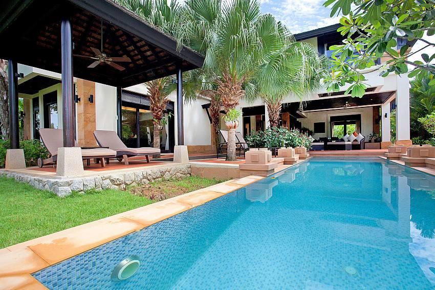 Chom Tawan |  4 Bed Pool Villa Near Layan Beach... Slide-1