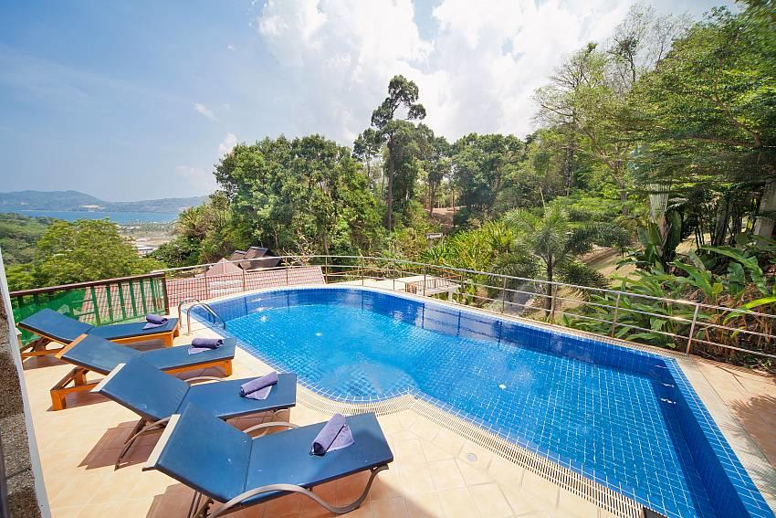Patong Hill Estate Five | 5 Bed Pool Villa with... Slide-3
