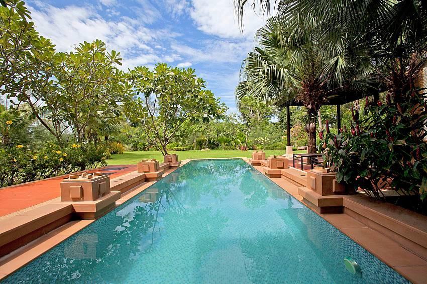 Chom Tawan |  4 Bed Pool Villa Near Layan Beach... Slide-2