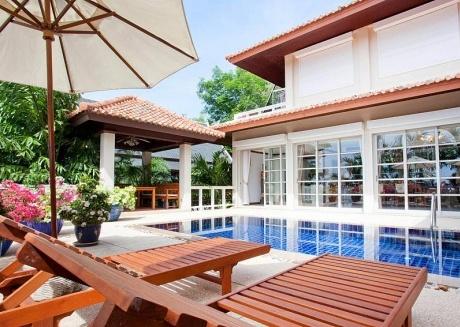 Ruedi Villa | 2 Plus 1 Bed Holiday Home with Pool at Kata Beach Phuket