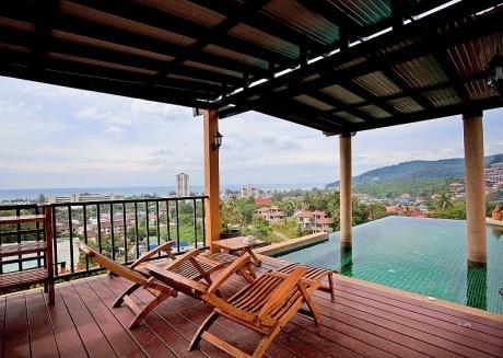 Baan Pa Nom | 3 Bed Pool Holiday Home Overlooking Karon Beach Phuket
