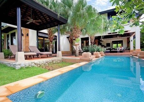 Chom Tawan |  4 Bed Pool Villa Near Layan Beach in Bang Tao Phuket