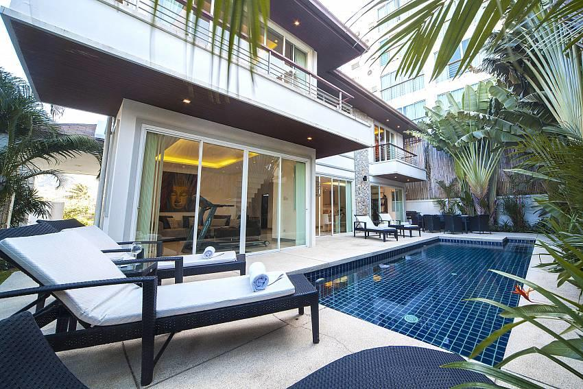 Villa Romeo | 3 Bed Pool Villa short Walk to Ka... Slide-2