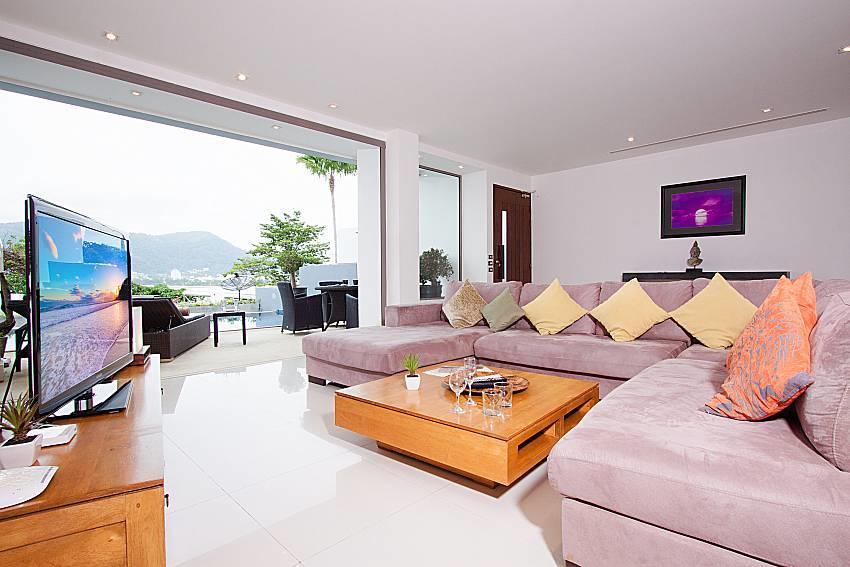 Seductive Sunset Villa Patong A1 | 3 Bed Sea Vi... Slide-4
