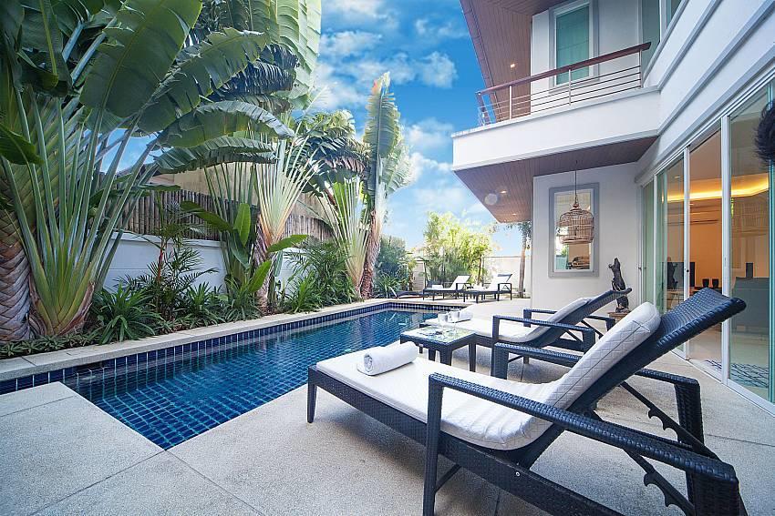 Villa Romeo | 3 Bed Pool Villa short Walk to Ka... Slide-3