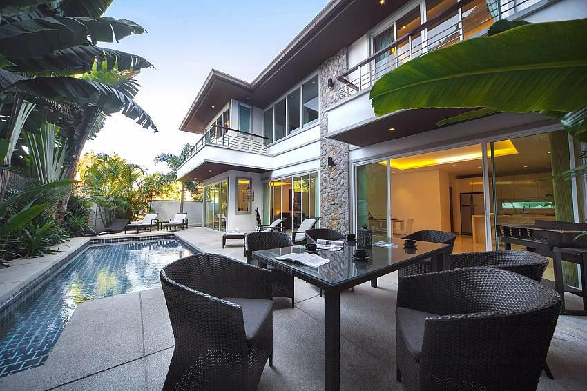 Villa Romeo | 3 Bed Pool Villa short Walk to Ka... Slide-1