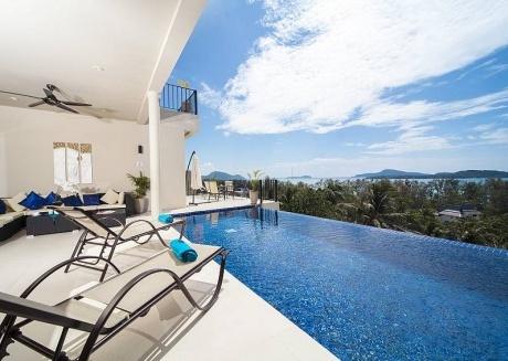 Villa Hin Fa   8 Bed Ocean View Property on Rawai Hills in Phuket