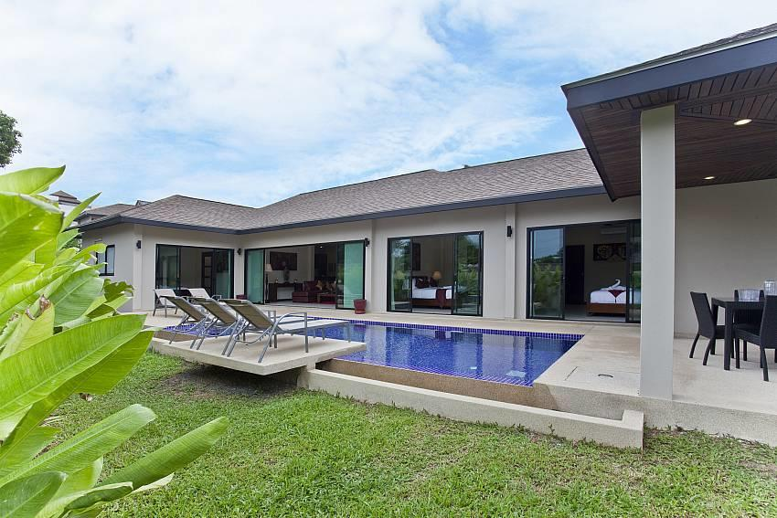 Tub Tim Villa | Classy 3 Bed Pool House in Nai ... Slide-1