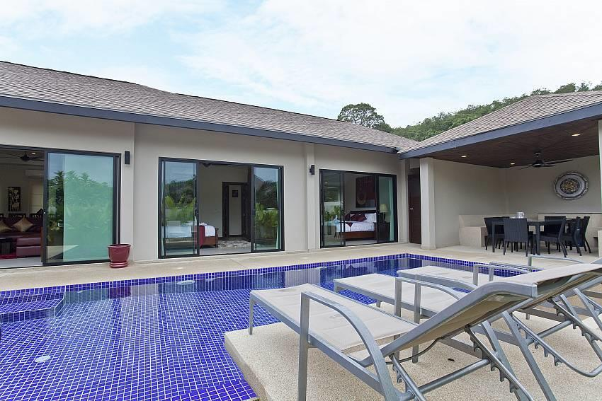 Tub Tim Villa | Classy 3 Bed Pool House in Nai ... Slide-2
