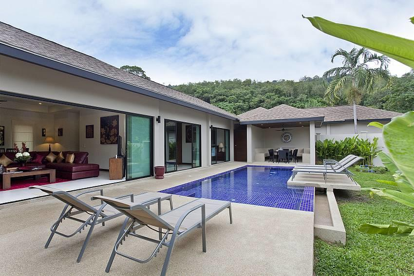 Tub Tim Villa | Classy 3 Bed Pool House in Nai ... Slide-24