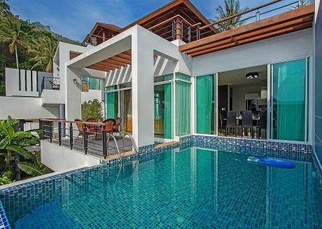 Kata Horizon Villa A2 | Ultra Modern 4 Bed Pool Villa in Kata Phuket