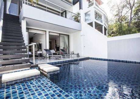 Seductive Sunset Villa Patong A8 | 3 Bed Sea View Pool Villa in Phuket