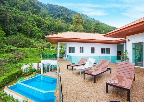 Villa Niyati | Large 7 Bed Sea View Pool Residence in Phuket