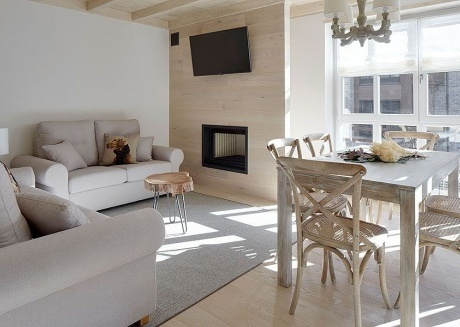 Spacious apartment in Baqueira with Lift, Parking, Internet, Washing machine