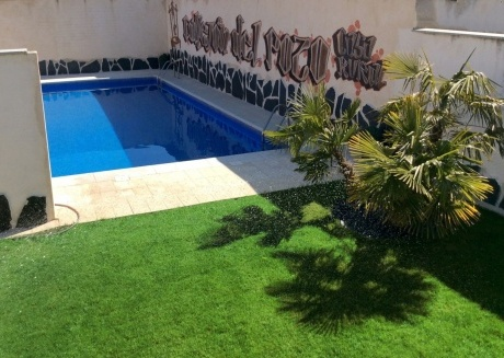 Spacious house in the center of Gálvez with Parking, Internet, Air conditioning, Pool