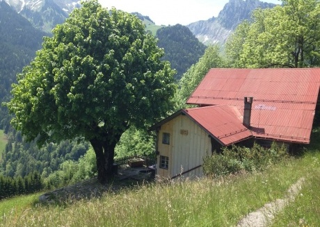 Spacious house very close to the centre of Rossinière with Parking, Internet, Washing machine