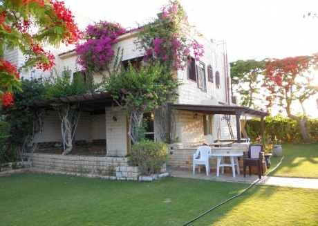 Spacious house in Marina El Alamein with Air conditioning, Balcony, Garden, Terrace