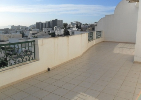 Spacious apartment in the center of Ariana with Lift, Air conditioning, Terrace