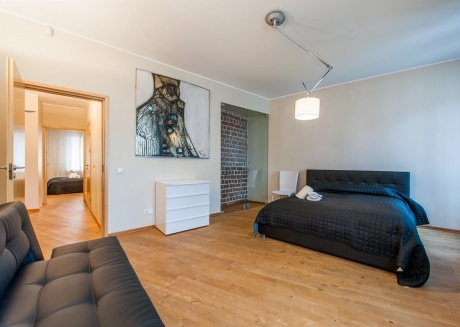 Spacious apartment in the center of Tallinn with Internet, Washing machine, Air conditioning