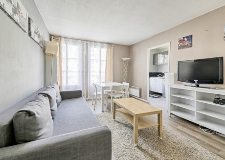 Cozy apartment very close to the centre of Serris with Parking, Internet, Washing machine