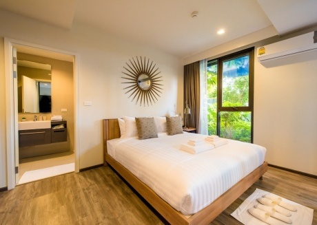 Spacious apartment in the center of Patong with Lift, Internet, Washing machine, Balcony