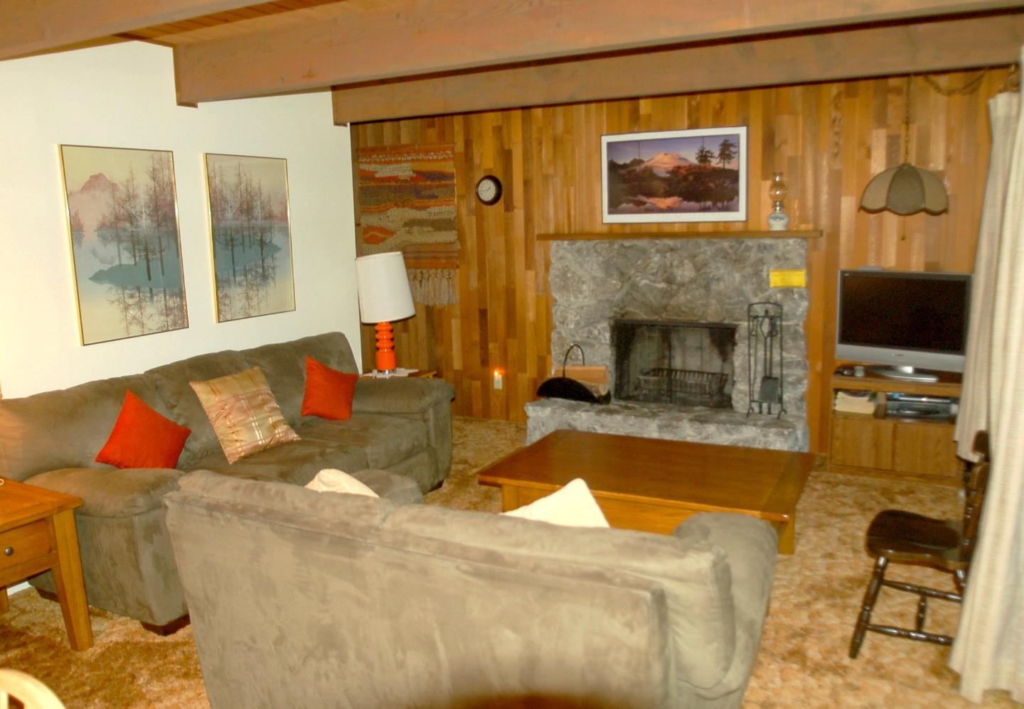 Living Room with Fireplace Slide-2