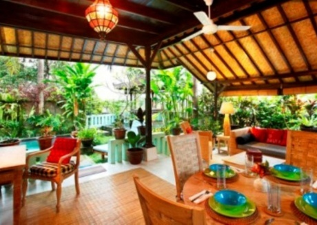 Spacious house close to the center of Ubud with Internet, Pool, Balcony, Garden
