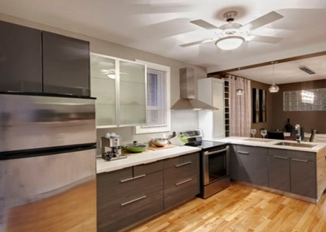 Spacious apartment in Montreal with Internet, Washing machine, Balcony, Terrace