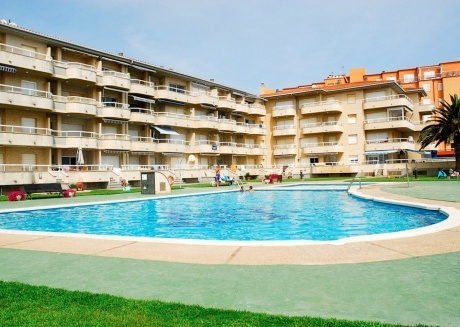 Cozy apartment in the center of Els Griells with Lift, Internet, Washing machine, Pool