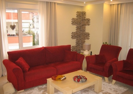 Spacious apartment in Alanya with Lift, Internet, Washing machine, Balcony