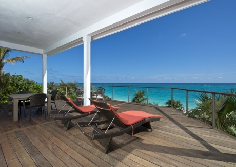 New and Luxurious Beachfront House W/ Private Pool On Prestigious Banks Road