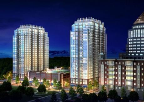 Breathtaking city views! 2br luxury apt in Uptown