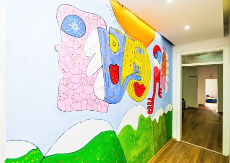 ARTISTIC guesthouse in the Heart of the city!