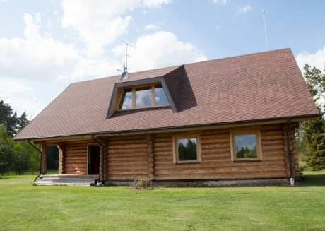 Vacation House near the Riga, Which Is Surrounded By Forests