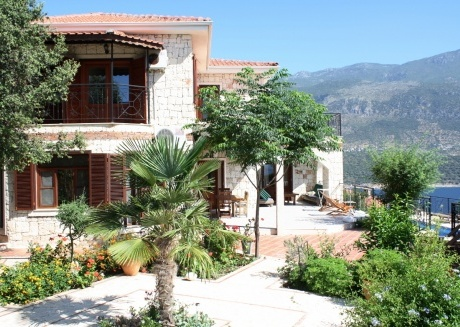 villa with fantastic views in a prime location in Kas peninsula