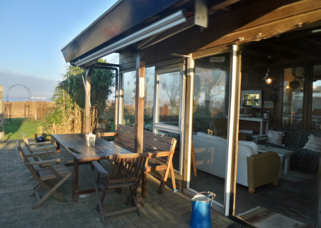 6 pers. House Marijke with winter garden and direct access to the Lauwersmeer