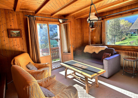 Rocaillesrooms apartment in a authentic old chalet