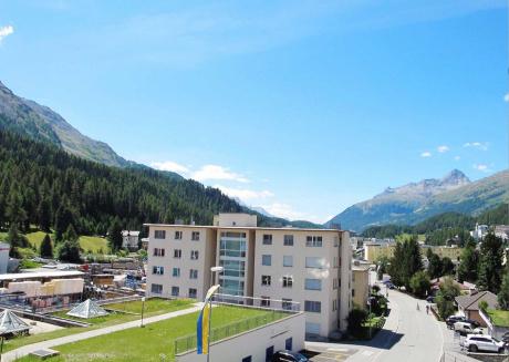 St. Moritz an amazing location and Chesa Anemona an wonderful apartment