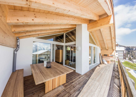 Swiss Penthouse Suite with panoramic view