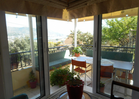 Porto Rafti - 2 Bedroom House with Sea View