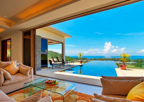 Hilltop Wow 4br Seaview Pool Villa Naithon Beach