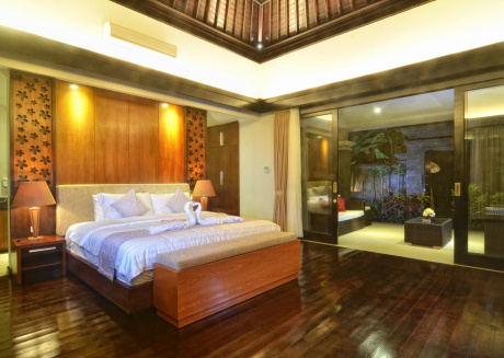 Cozy house in Gianyar with Internet, Pool, Balcony, Garden
