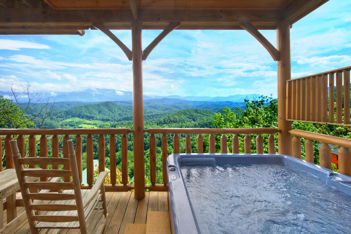 Enjoy Mountain Views from your Luxury 1 Bedroom... Slide-3